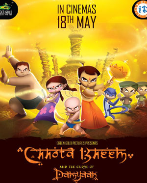 Chhota Bheem And The Curse Of Dhamyaan - DvdRip