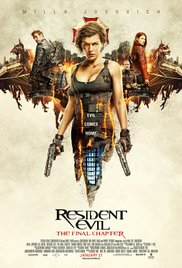 Resident Evil - The Final Chapter - Hindi - BRRip